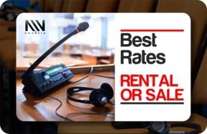 interpretation equipment rental