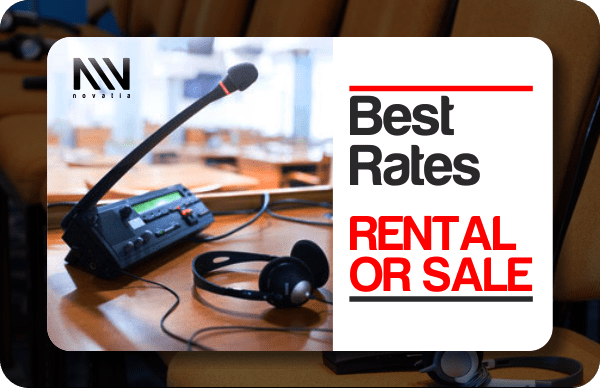 rent translation equipment in any cities in Nigeria
