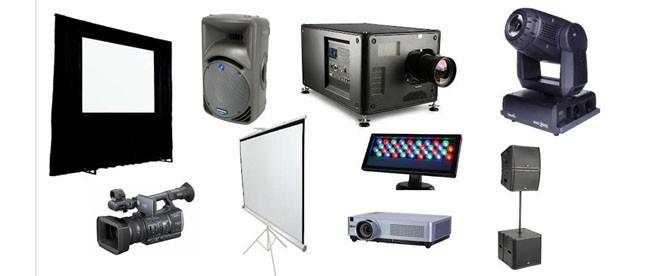 audio visual rental services in Lagos Abuja Nigeria